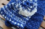 Häkelmütze blau Emmasommerfeld Ihr schönsterMoment