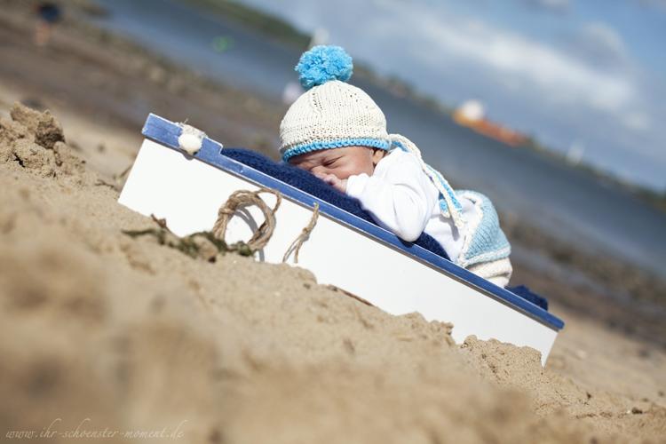 Neugeborenenfotografie in Jork an der Elbe - Laurence Rémi - 9 Tage jung (1/6)