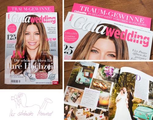 GALA Wedding veröffentlichung Hochzeitsfotos
