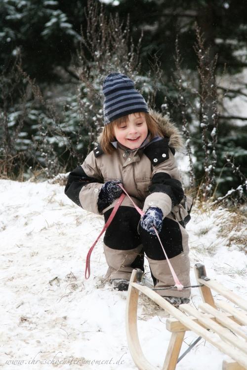 kinderforografie im schnee