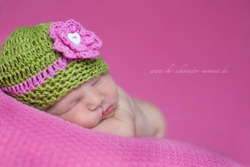 neugeborenenfotos 6 tage jung