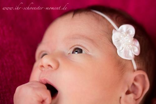 neugeboren weißes haarband 1
