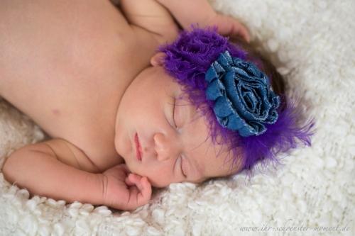 neugeborenen lila