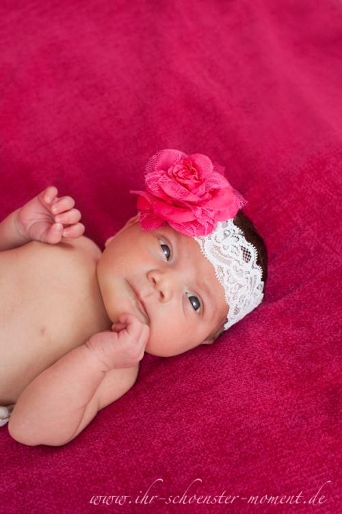 neugeborenenfoto pink
