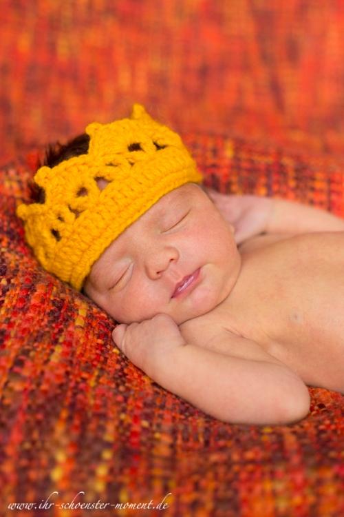 neugeborenenfotos kleiner prinz