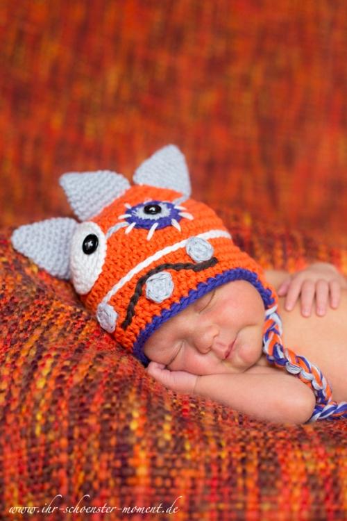 neugeborenenfotos kleines monster