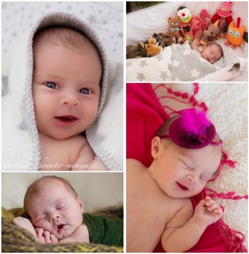 collage birne helene babybilder