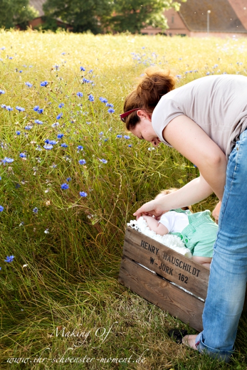 Making Of Babyfotografie 1