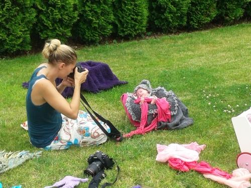 making of neugeborenenbilder
