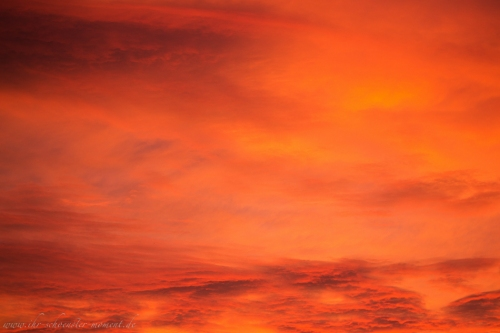 spektakulärer abendhimmel buxtehude-2