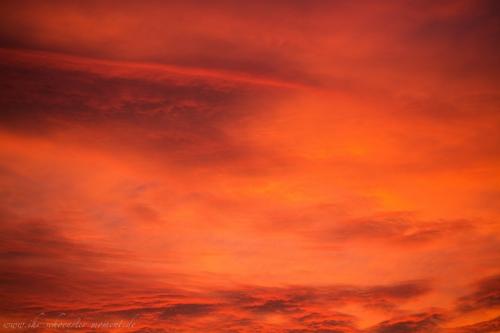 spektakulärer abendhimmel buxtehude-4
