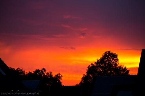 wunderschöner abendhimmel buxtehude-9