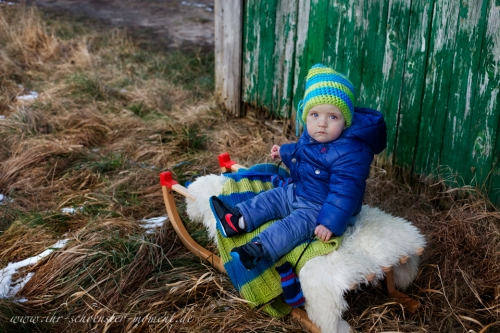 Kinderbilder im schnee