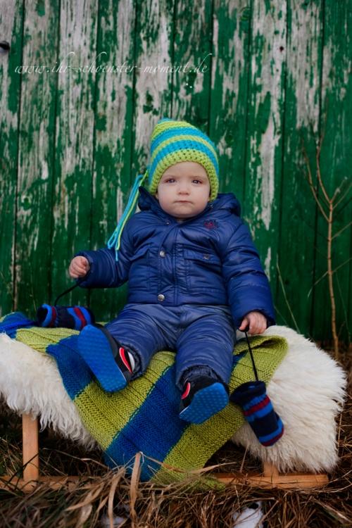 Kinderfotografie im Winter -Jannik