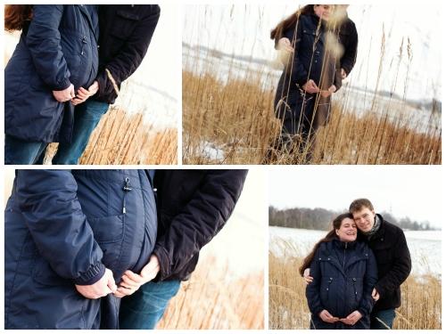 babybauchfotografie im winter-2
