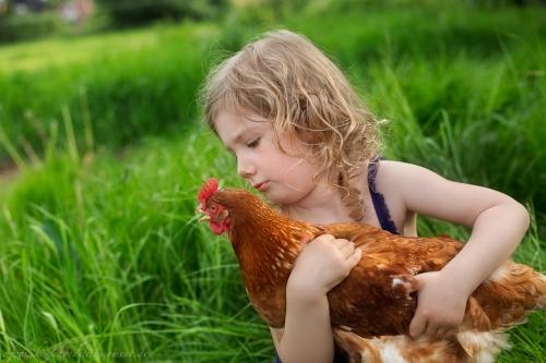 Kinderotos auf dem Bauernhof-24