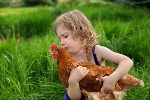 Kinderotos auf dem Bauernhof-25
