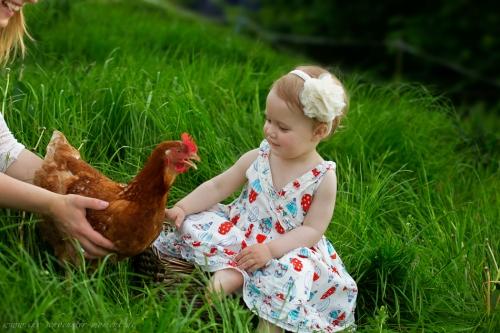 Kinderotos auf dem Bauernhof-30