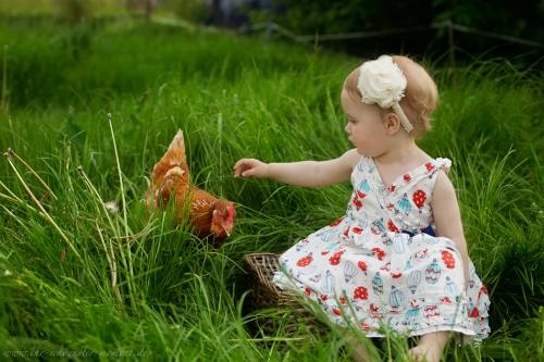 Kinderotos auf dem Bauernhof-32