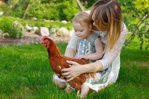Kinderotos auf dem Bauernhof-6
