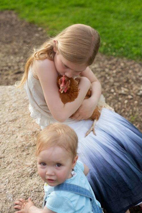 Kinderotos auf dem Bauernhof-10