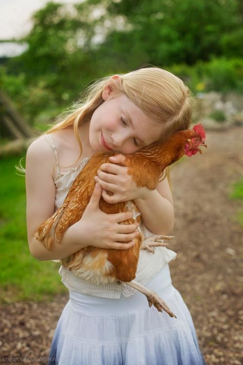 Kinderotos auf dem Bauernhof-9