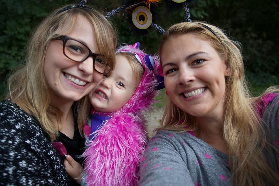 Making of Kinderfotos zu Halloween