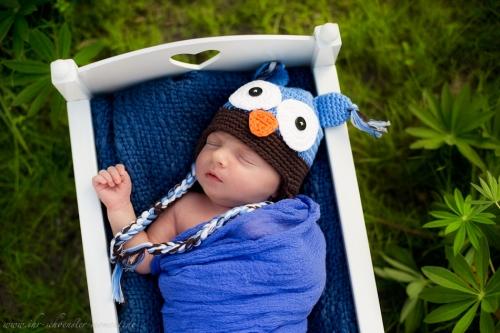 Neugeborenenfotoshooting Buxtehude-6