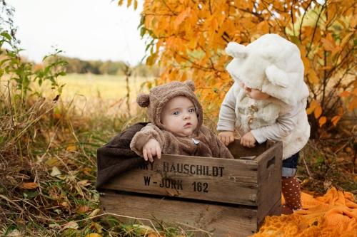 Babyfotografie in der Natur - Buxtehude-2