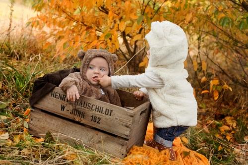 Babyfotografie in der Natur - Buxtehude-7