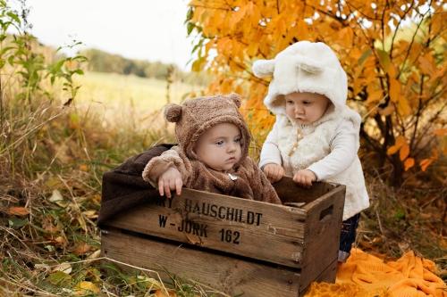 Babyfotografie in der Natur - Buxtehude