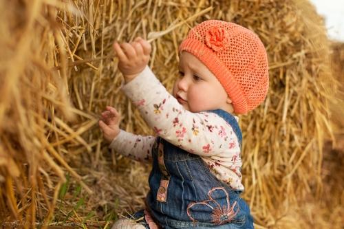 Babyfotos im Herbst Rade-2