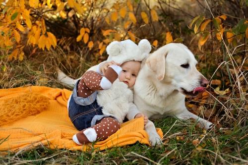 Babyfotos mit Hund in Buxtehude Eisbärchen-11