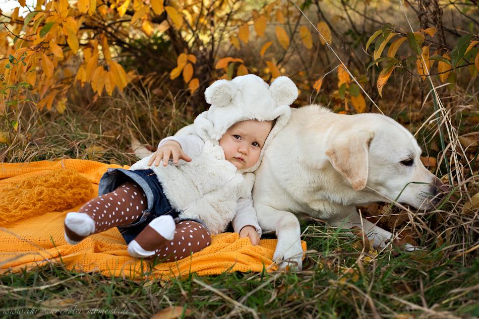 Babyfotos mit Hund in Buxtehude Eisbärchen-13
