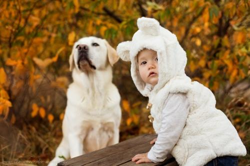 Babyfotos mit Hund in Buxtehude Eisbärchen-14