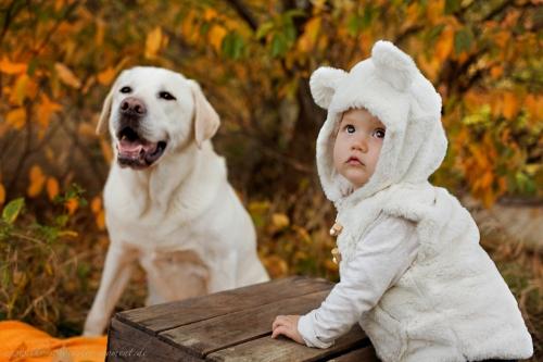 Babyfotos mit Hund in Buxtehude Eisbärchen-15