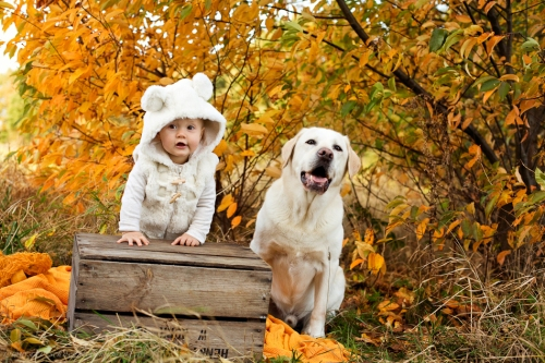 Babyfotos mit Hund in Buxtehude Eisbärchen-20