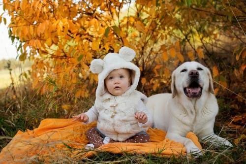 Babyfotos mit Hund in Buxtehude Eisbärchen-4