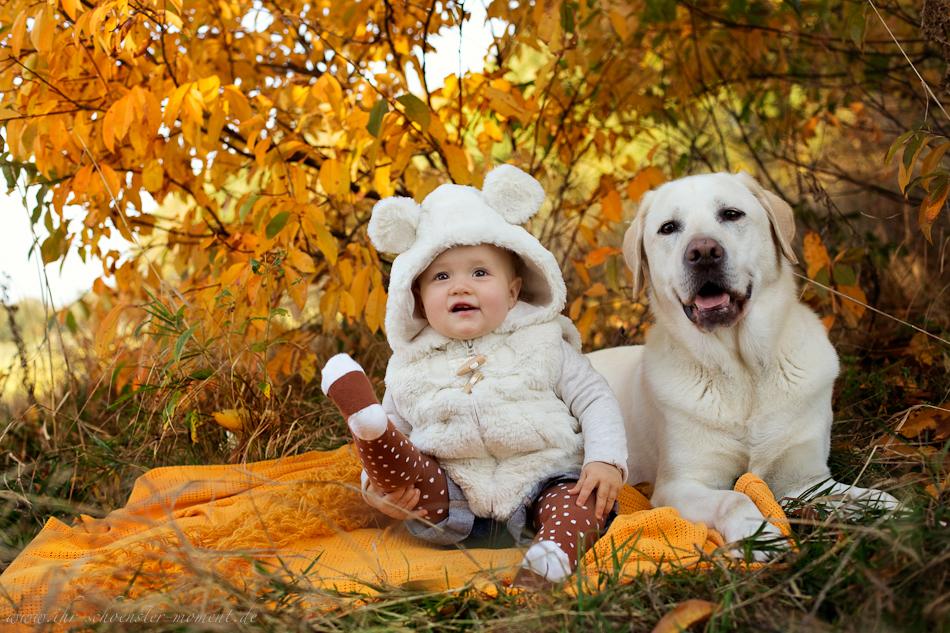 Babyfotos mit Hund in Buxtehude Eisbärchen-6
