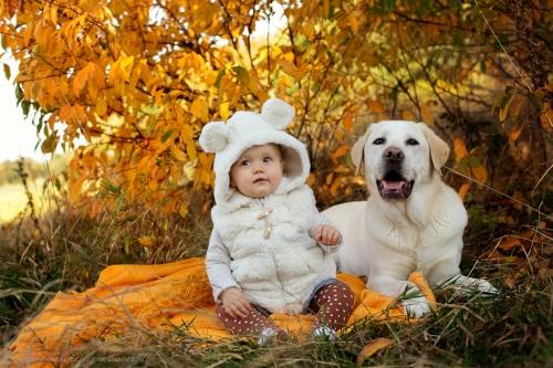 Babyfotos mit Hund in Buxtehude Eisbärchen-7