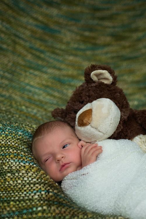 Neugeborenenfotos in Buxtehude Eisbärchen-15