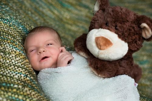 Neugeborenenfotos in Buxtehude Eisbärchen-17