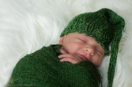Neugeborenenfotos in Buxtehude Eisbärchen-5