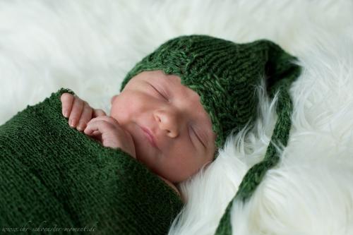 Neugeborenenfotos in Buxtehude Eisbärchen