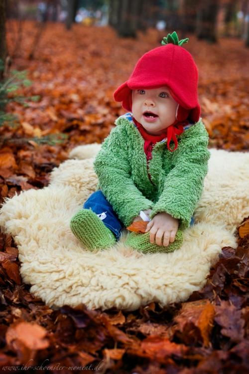 Babyfotos im Herbst Buxtehude-9