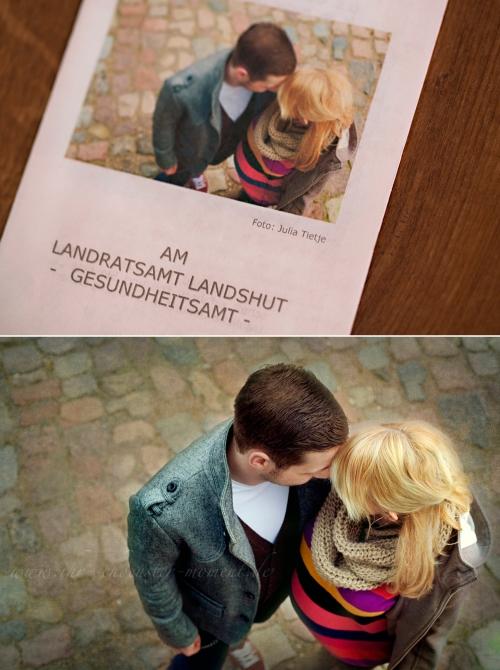 Collage Schwangerschaftsfotos Landratsamt Landshut Gesundheitsamt