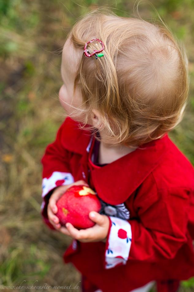 Kinderfotos auf dem Apfelhof