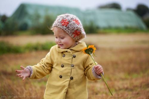 Kinderfotos im Herbst-2