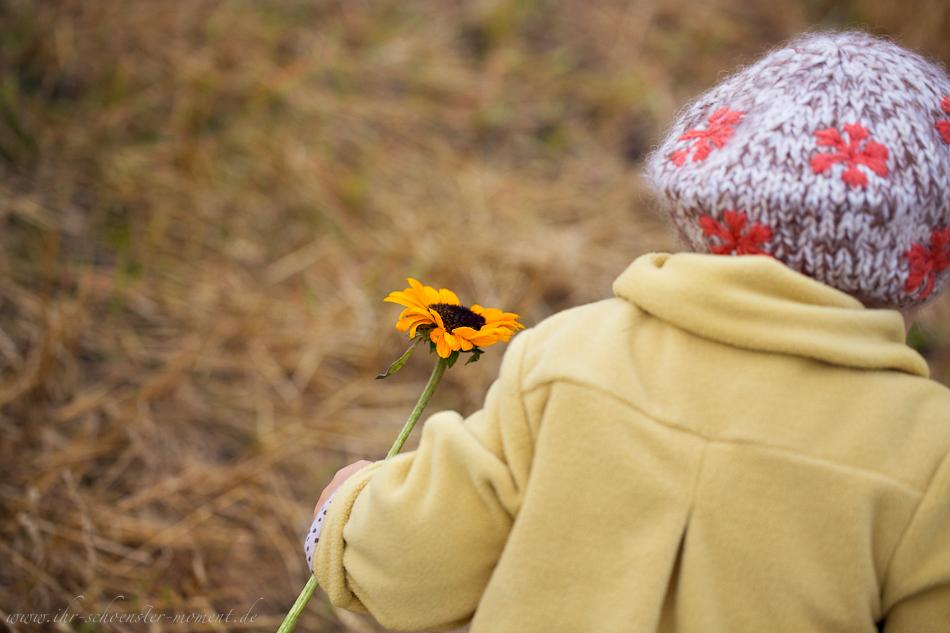 Kinderfotos im Herbst