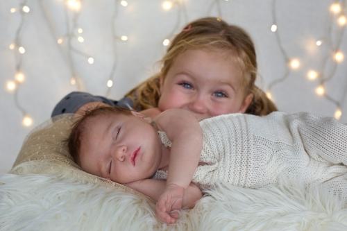 Neugeborenenfotos zu Weihnachten-13